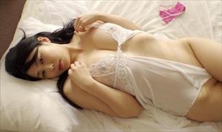 【ゆめじ】モデル並みのプロポーションを持つGカップ乳美女、!惜しげもなく透けセクシーを披露
